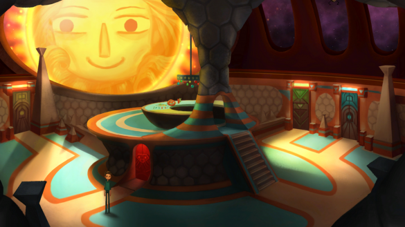A still from Double Fine's adventure game, Broken Age.